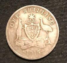 5  Available 1915 Australian Shilling   Fine