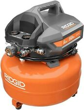 RIDGID 6 Gallon Portable Electric Pancake Air Compressor 150 PSI Oil-Free 1.5 HP