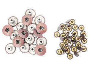 Gunmetal Denim Jeans Buttons Replacement with Pins 14mm JB37