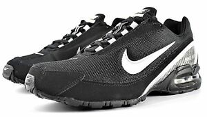 a936f035695 New Nike Air Max Torch 3 Mens Running Shoes Black Silver White ...