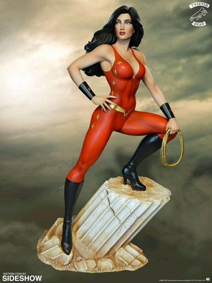 Tonåringaar  kvinnor Troy Super Powers Maquette-Twe903349-TEETERHEAD