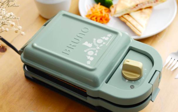 MOOMIN VALLEY Sandwich Toaster Single Moomin Little My BRUNO Japan New