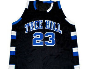 Nathan scott 23 one tree hill ravens basketball jersey black new image is loading nathan scott 23 one tree hill ravens basketball publicscrutiny Choice Image