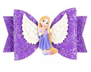 Glitter//Sparkle Ariel disney princess hair Bow