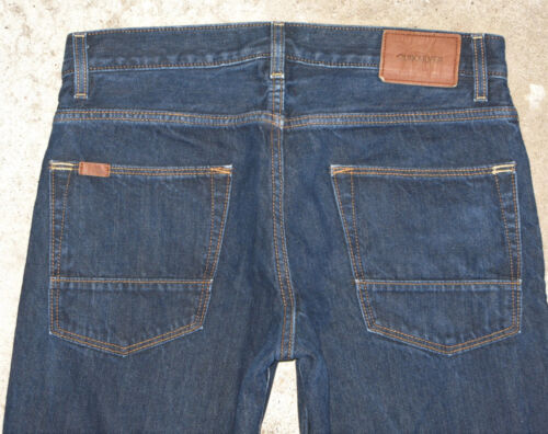 Fonc X Jambe Cotton 32 31 Jeans Quiksilver Bleu 100 Droite Homme Awvgqg