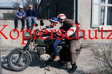J29 Kinder NVA MZ Regulierer Kradmelder DDR Seelow Motorrad II Foto 20 x 30 cm