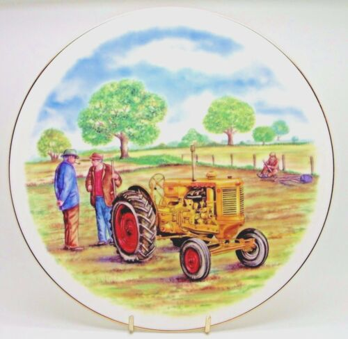 ~~~ Minneapolis Moline ~ Bone China Tractor Plate