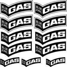 ADHESIVO PEGATINA - AUFKLEBER ADESIVI -  gas  Réf: SPON-064