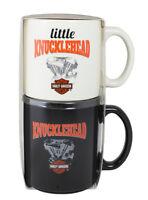 Hallmark Harley Davidson Dad And Kid Mug Set