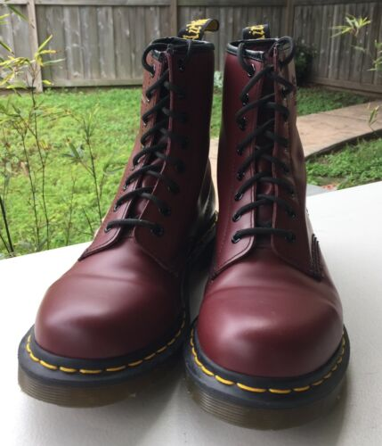 Dr. Martens Boots - Ox Blood