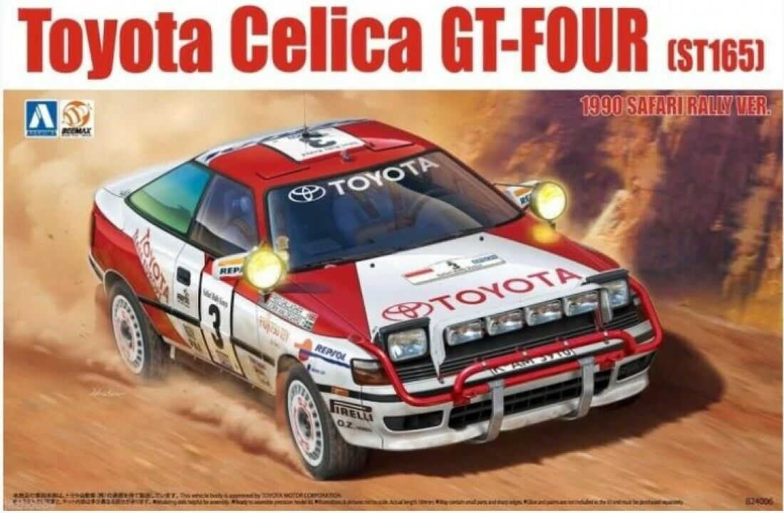 Beemax Models 1 24 Toyota Celica St-165 Gt-four 1990 Safari Rally Ver.