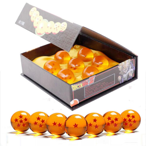 Dragon ball Z 7 Boules de cristal Diamètre 4,5 cm