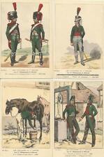 Cdt BUCQUOY - UNIFORMES 1er EMPIRE - Série 64 - Le 1er CHASSEURS à cheval