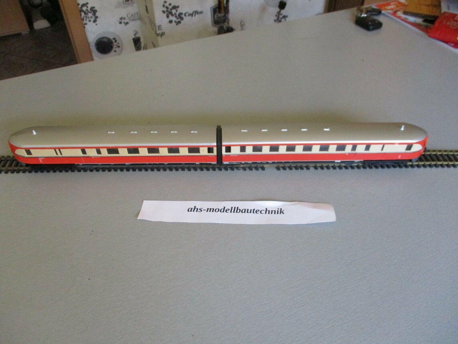PIKO SVT 137, 2-ceco treno rapido carro trainante dell'DR traccia per h0.