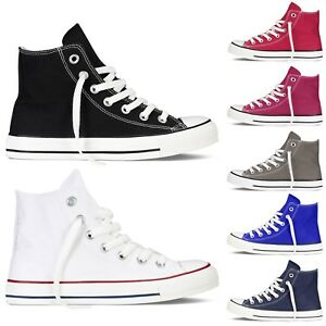 Scarpe-Da-Ginnastica-Uomo-Donna-Sneakers-Alte-Casual-Comode-Vari-Colori-VEQUE