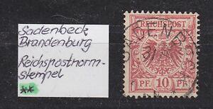 DR-Stempel-K1-034-SADENBECK-034-Brandenburg-auf-10-Pfg-Adler-bitte-ansehen