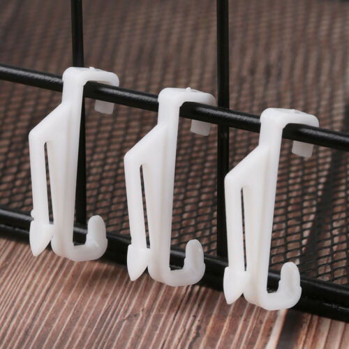 Home Decor Hanging Clip Glider Rail Track Curtain Tie Rings Curtain Glide Hooks