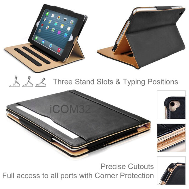 newest 484cb 54696 Magnetic Leather Smart Case Cover For Apple Older iPad Pro 12.9