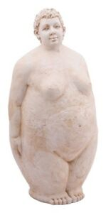 Dicke-Frau-Skulptur-Nana-Rubens-Modell-Deko-Garten-Terrasse-Balkon