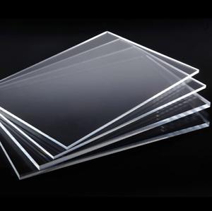 "3//16/"" x 60 x 120 Clear Plexiglass Acrylic Sheet Sneeze Guards 5x10ft 5mm"
