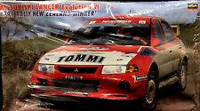 Hasegawa 1/24 Scale Mitsubishi Lancer Evolution VI 1999 Rally New Zealand Winner