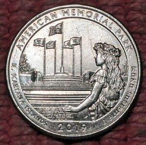 2019-D AMERICAN MEMORIAL PARK---NORTHERN MARIANA ISLANDS---ATB BU QUARTER