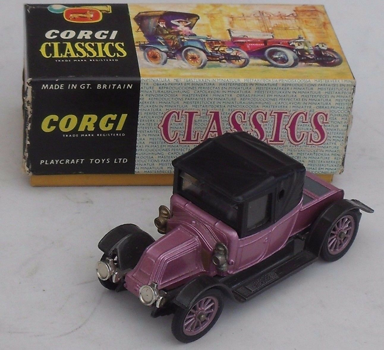 Corgi 9031 -1910 Renault - Mint and Boxed