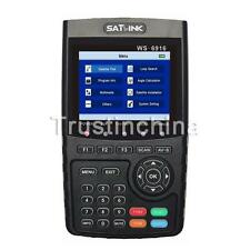 2016 New Satlink WS-6916 HD DVB-S+S2 Satellite Signal Meter Finder MPEG-2/MPEG-4