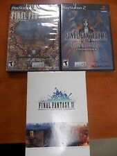 PS2 Final Fantasy Online + 2 Expansions. Brand New and Sealed! Great collection!