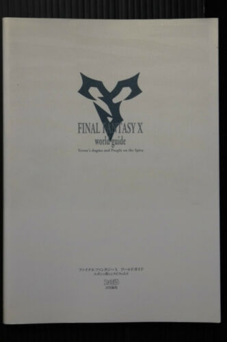 JAPAN Final Fantasy X World Guide Yevon/'s dogma People Spira