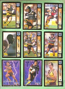 1994-SERIES-2-BRISBANE-BRONCOS-RUGBY-LEAGUE-CARDS