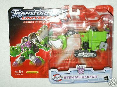 Transformers Universe Steamhammer Mint on Sealed Card