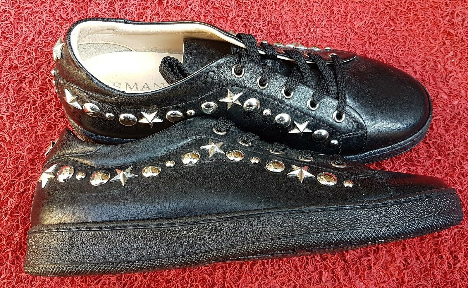 ERMANNO Scervino Damensneakers, schwarz, Karton Gr.37, Leder, neu im Karton schwarz, f48f16