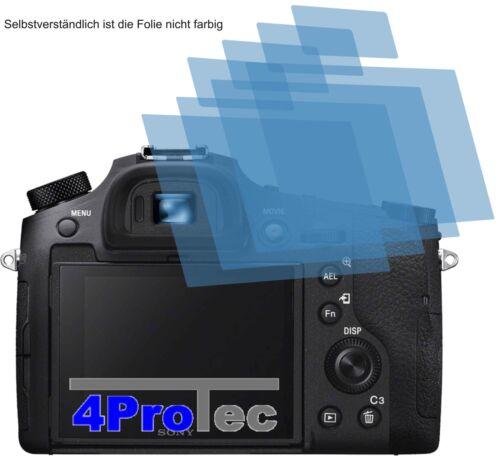 2x protector pantalla claro para Sony Cyber-shot dsc-rx10 recubrimiento protector protector de pantalla