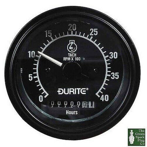 Durite - Contagiri Alternatore Pick-Up 0-4000rpm Metro ora 12/24 Volt Bx1 - 0-5
