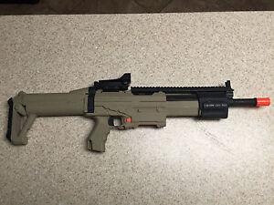 Custom Modified Nerf Alpha Trooper Scar Nerf Gun Mod