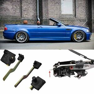 BMW-E46-CONVERTIBLE-ROOF-LOCK-LATCH-PARTS-LEFT-AND-RIGHT