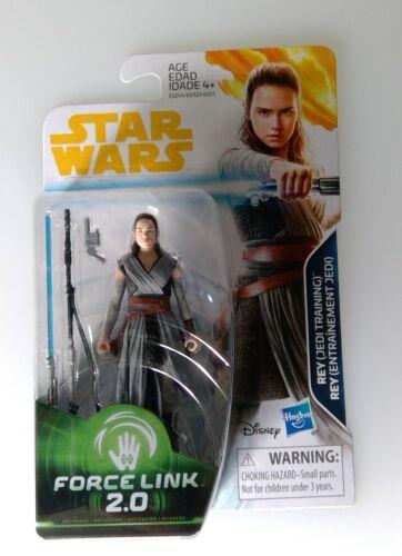 Star Wars Solo Series Rey Jedi Training 3.75 inch action figure MISB