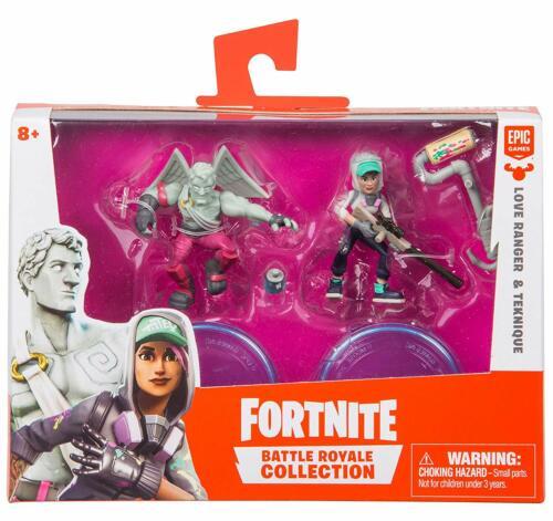 environ 5.08 cm 2 figurine Duo Pack-UN SEUL FOURNIS vous choisissez 5 cm Fortnite 2 in