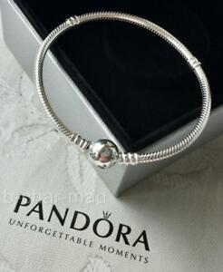 5dd16d046 Image is loading PANDORA-DISNEY-COLLECTION-Silver-Mickey-Moments-Bracelet -19cm-