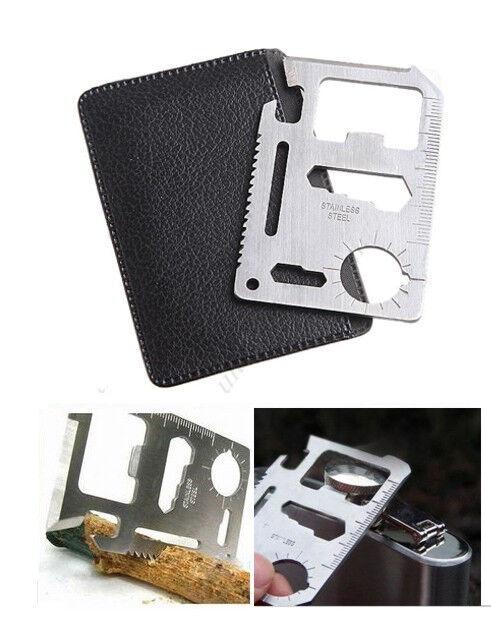 Multitool Outdoor  11 in 1 survival überleben Kreditkarte Multifunktions Werkzeug  authentic quality