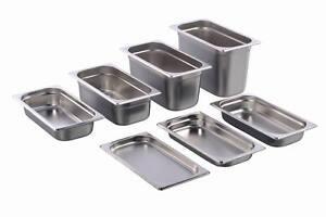200mm Tiefe aus Edelstahl GN Behälter Gastronorm Behälter 1/3 20mm Gastronormbehälter Küchen- & Edelstahlmöbel