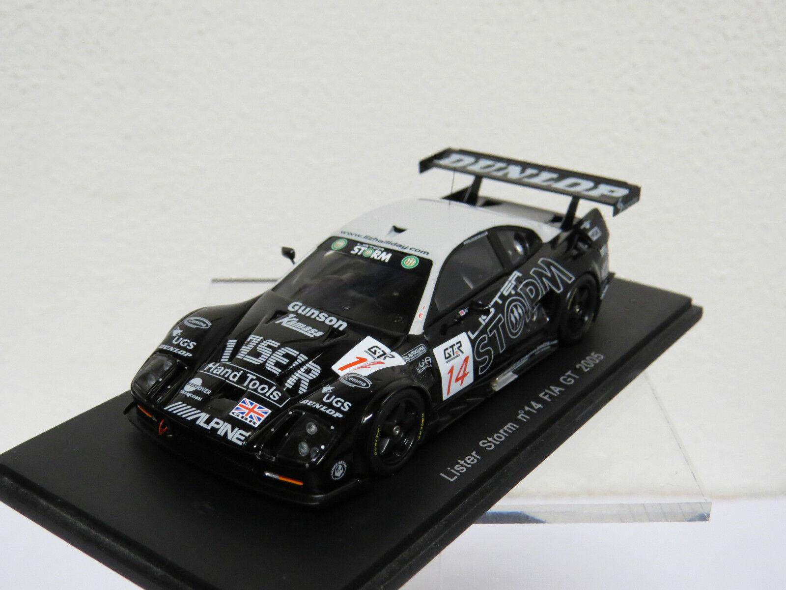 Lister Storm nr 14 FIA GT 2005  Spark S0636