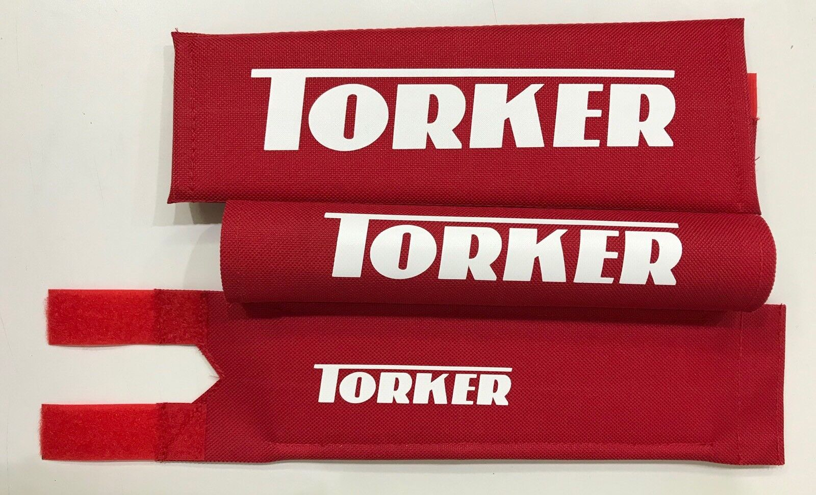 Torker Bmx Pad Set RED  Oldschool REPOP Tange Koizumi  PK Ripper Kuwahara  incentive promotionals