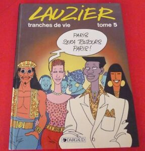 French-Hard-Cover-Comic-Book-Lauzier-Tranches-de-Vie-Tome-5