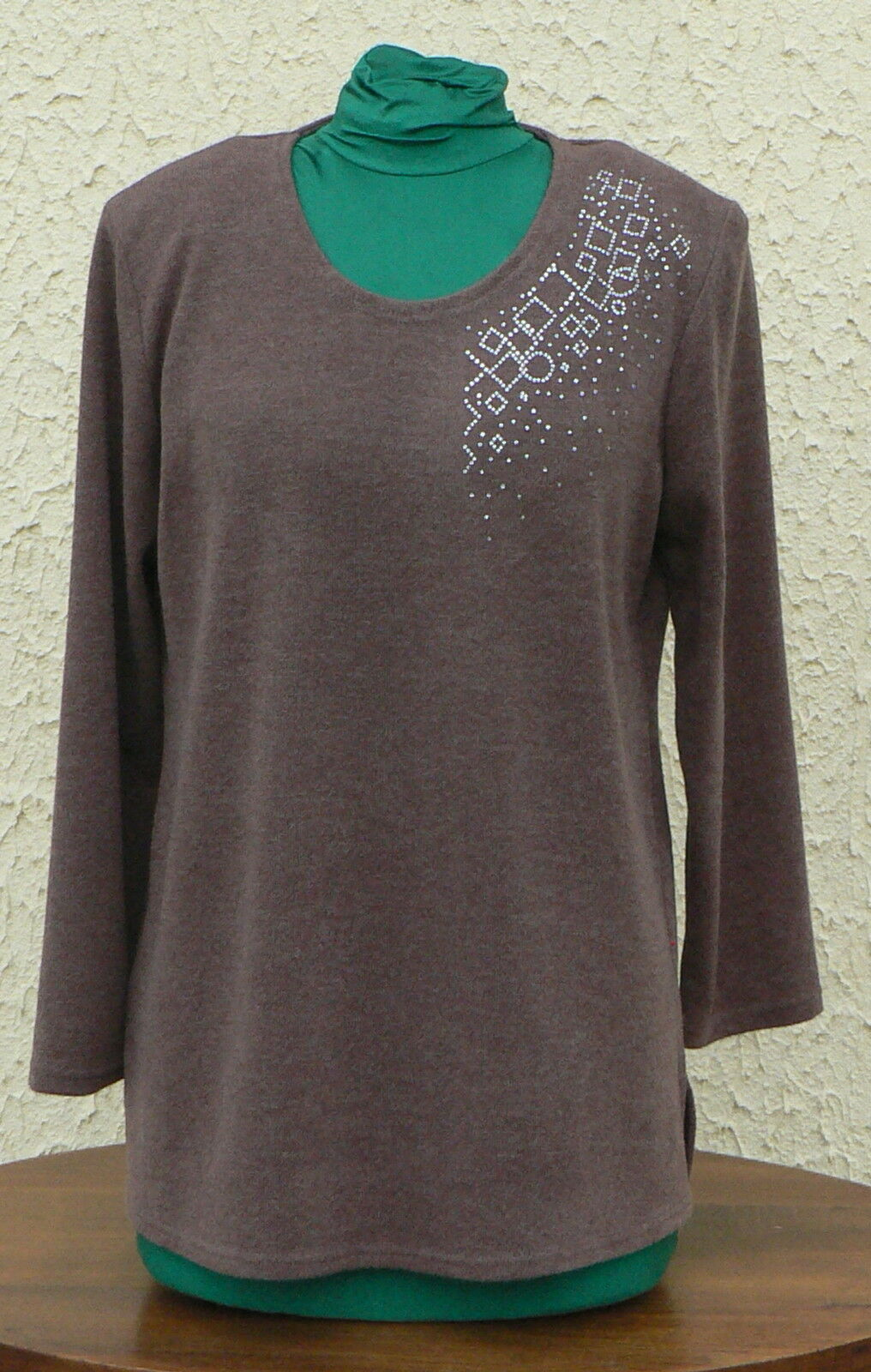 TUNIQUE  FEMME     NEW YORK  T 2XL (T 52 54) Taupe