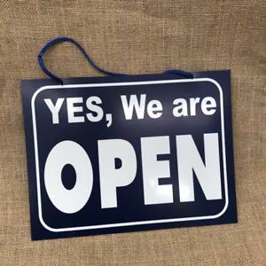 1 pc Open/Closed Store Sign Large 30x23cm Plastic Professional