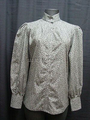 Ladies blouse by Frontier Classics Somerset black leaf style sizes S-3X