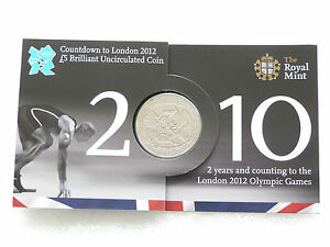 2010-Royal-Mint-London-2012-Olympic-Games-Countdown-BU-5-Five-Pound-Coin-Pack