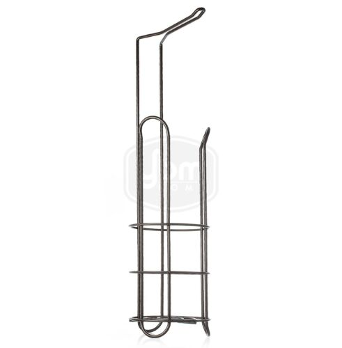 Ybmhome Free Standing Toilet Paper Roll Holder Stand for Bathroom Storage 2211